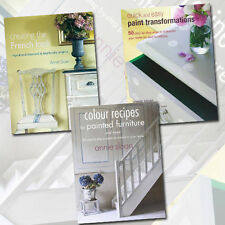 Annie Sloan Collection 3 Books Set Pack Colour Recipes for Painted Furniture NEW
