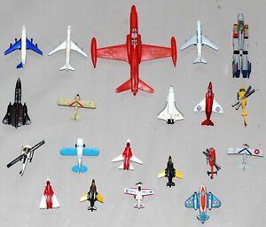 20x Flugzeug Hubschrauber überwiegend Matchbox #1-596