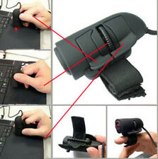 New Mouse USB Wired Optical Mouse 3D Finger Mouse Lazy Black PC Ring