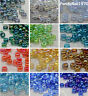50g 11/0 Round Rainbow Transparent Mini Glass Seed Beads about 3000pcs/50g