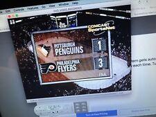 Philadelphia Flyers vs Pittsburgh Penguins DVD 10-9-1999