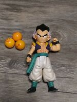 "Vintage Dragon Ball Z Jakks 4"" Gotenks Action Figure 2003 Saga DBZ Complete"
