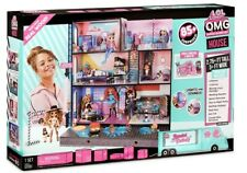 LOL SURPRISE OMG HOUSE - New Real Wood Doll House with 85+ Surprises - FAST POST