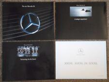 MERCEDES BENZ SL orig 1989 UK Mkt Prestige Brochure Portfolio - 300 300-24 500