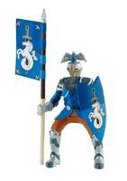 Bullyland 80785 - Ritter / Knights - Turnierritter - Blau (Ca. 11cm) - Neu