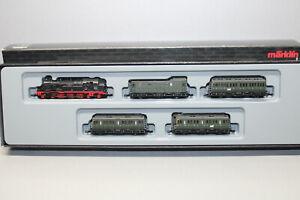 Märklin 81191 Mini Club Passenger With Steam Locomotive Series 78 DRG Z Gauge Ob