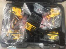 DeWalt DCK2062M2T-GB 18v 2x4.0Ah XR Li-ion Brushless Drill Driver/Impact Driver