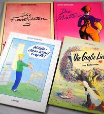 Pacchetto di fumetti - 4 x fumetti per le donne Claire Bretecher raccolta