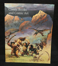 Sotheby's Comic Books and Comic Art Auction Catalog (VF) 6/28 & 6/29 1996