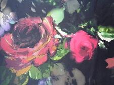 Italian Satin Silk 100%, 'Montone' (per metre) dress fabric, scarves,