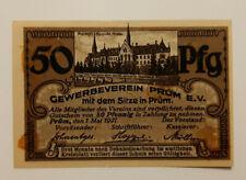 PRÜM NOTGELD 50 PFENNIG 1921 EMERGENCY MONEY GERMANY BANKNOTE (10402)