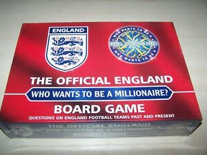 NEW - The Official England Who Wants to be a Millionaire Board Game - 2006