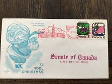 Stamps Canada 🇨🇦625-26, Christmas 1973, on RoseCraft Fdc