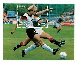 VINTAGE CLASSICS - Maldives 2292 - '98 World Cup Klinsmann Germany - S/S - MNH