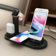 Practical Mobile Phone Watch Headset Three-in-one Wireless Charging Dock Stand