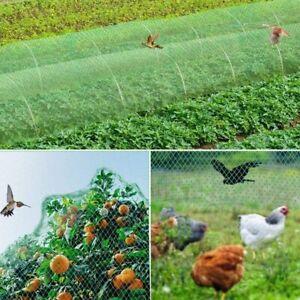 4M X 5M GARDEN PROTECTION NETTING NET MESH STRAWBERRY FRUIT VEGETABLES SEEDLINGS