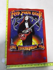 MB/1997 Rock Roll Concert Poster Feed Your Head Randy Tuten Whit Clifton