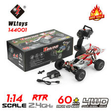 WLtoys 144001 1:14 2.4G RC 4WD Off-Road Vehículo 60km/h de alta velocidad Drift Car