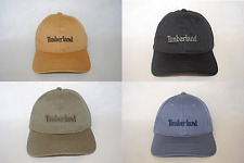 New Timberland Men's Embroidery Baseball Hat Cotton Strapback Curved Cap OSFM