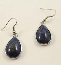 Lapis Lazuli earrings tribal Afghan jewellery real Lapis Lazuli
