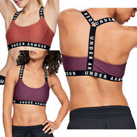 Womens Under Armour Sports Bra Support Yoga Fitness Padded Racerback Top