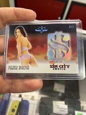 2020 Benchwarmer Vegas Baby Sin City Swatch Card Holo Pamela Horton #3/7