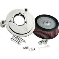 Arlen Ness Chrome Big Sucker Stage I Air Filter Kit for Harley Touring 08-13