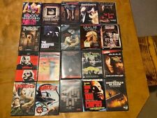 Huge Horror DVD Lot 1*106 Movies*Great Lot*No Junk*Obscure Low Budget Titles*