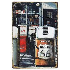 Vintage Plaque - Route 66 - Man Cave wall Plaque