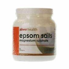 Power Health Epsom Salts Magnesium Sulphate Food Supplement 1kg