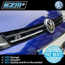 EZM Volkswagen VW Golf R 7 MK7 Gloss Black Vinyl Grill Strip Overlay Stickers