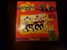 New Vintage The Wiggles Activity Set Collage Craft 2008 Colorific Art