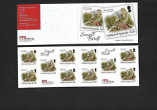 Falkland Islands 2019 Small Birds Booklet  MNH See Scan