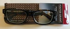 FOSTER GRANT MEN'S READING GLASSES W/ CASE - CONNOR TORTOISE  +3.00   $6.99 EA