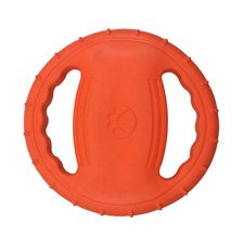 New listing 7.8 inch Dog Toy Flyer Flexible Durable Frisbee Disc Large Chew Fetch Toys Eva