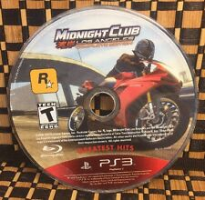 Midnight Club: Los Angeles -- Complete Edition (PS3) USED (NO CASE) #10426