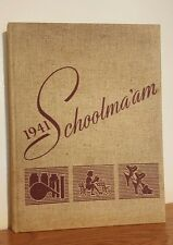 Schoolma'am 1941 Madison College Yearbook Annual from Harrisburg, Virginia