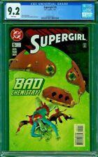 SUPERGIRL 5 CGC 9.2 David Frank Smith 1997