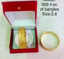 Gold Plated Chudi Bangles Indian Style Cheapest Price On Ebay Uk Seller Fast New
