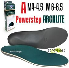 Powerstep ArchLite Full Length Cushioned Shoe Insoles Size A M4-4.5 W 6-6.5
