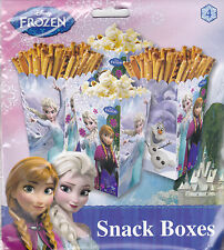 8pcs Disney Frozen Snack Boxes Favors Birthday Party Supplies Elsa Olaf Fillers