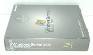 Microsoft Windows Small Business Server 2003 Premium Edition Factory Sealed NIB
