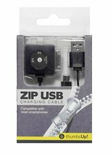 Thumbs Up ZIP USB CHARGING CABLE Multi Connector 4 Charger SAMSUNG iPhone 4 & 5