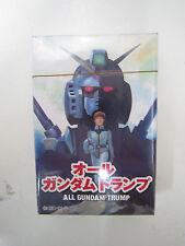 Gundam ACE Magazine 2013 Promo Furoku All Gundam Trump Poker Playing Cards Japan