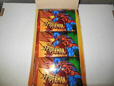 UNOPENED PACK 1997 FLEER SKYBOX SPIDERMAN MARVEL HEROES TRADING CARDS FROM BOX