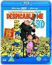 DESPICABLE ME 3D****BLU-RAY****REGION B****NEW & SEALED