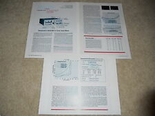 Kenwood KA-9100 Amplifier Review, 3 pgs, 1977, CLASSIC! Specs