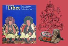 Catalogo mostra Tibet arte e spiritualità Dalai Lama Buddha tang-kas Besana