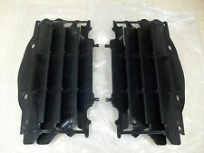 2 OEM BLACK RADIATOR GUARDS COVERS SHIELDS FITS HONDA CRF250R CRF 250R 2004-2009