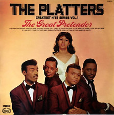 THE PLATTERS - Greatest Hits Series Vol. 1: The Great Pretender (LP) (VG/VG)